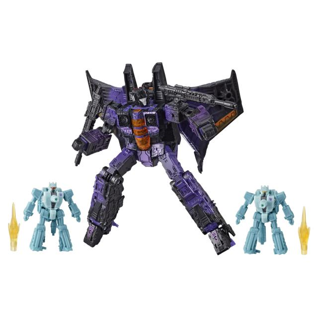 Transformers: Generations War for Cybertron Series-Inspired Voyager Decepticon Hotlink 3-Pack