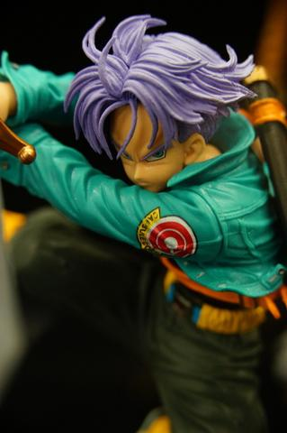Dragon Ball Trunks Jump Style Action Figure