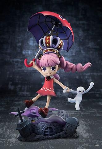 One Piece Ghost Princess Perona Childhood Action Figure