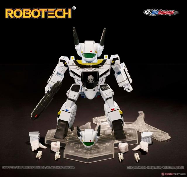 Kitz Concept Super Deformed Robotech Vf 1s Roy Fokker