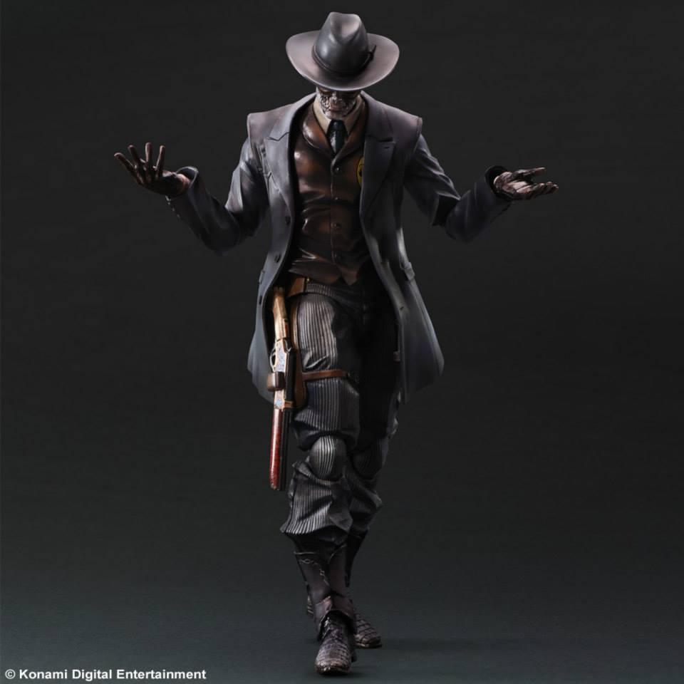 Play Arts Kai Skull Face From Metal Gear Solid V