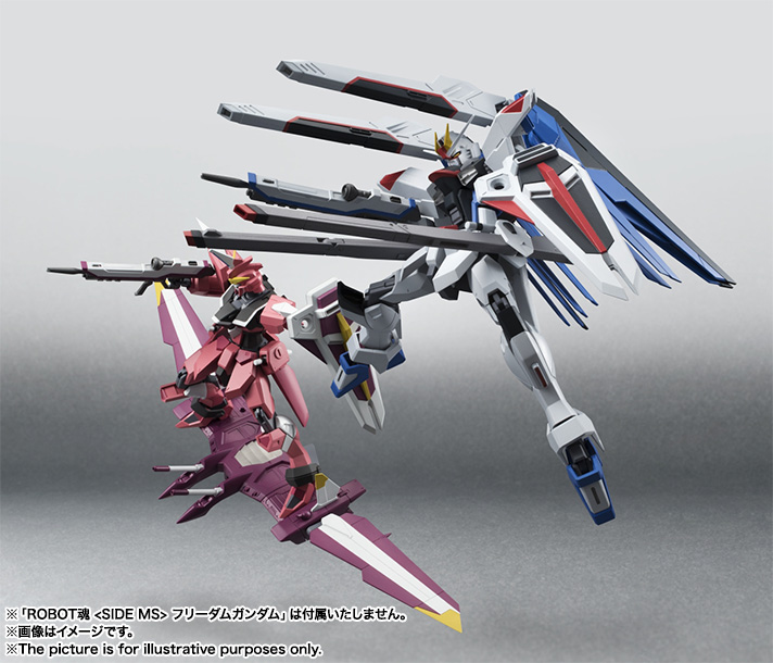 Robot Damashii Justice Gundam From Gundam Seed Updated