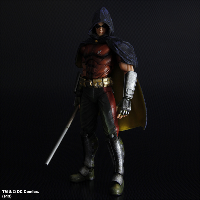 Play Arts Kai Batman Arkham City - RobinRobin Arkham City Hood