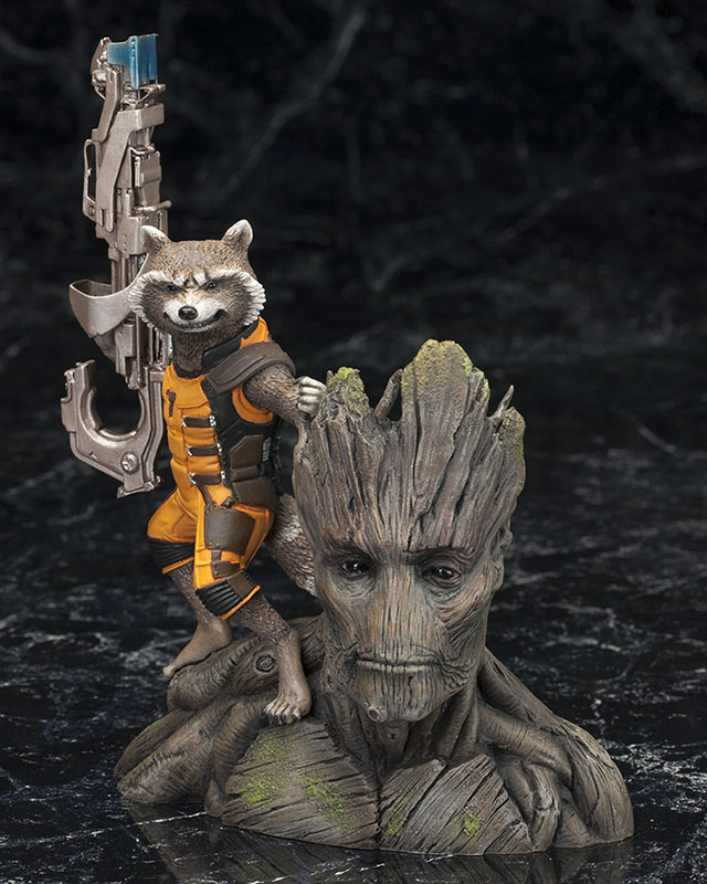 of Rocket Raccoon with...