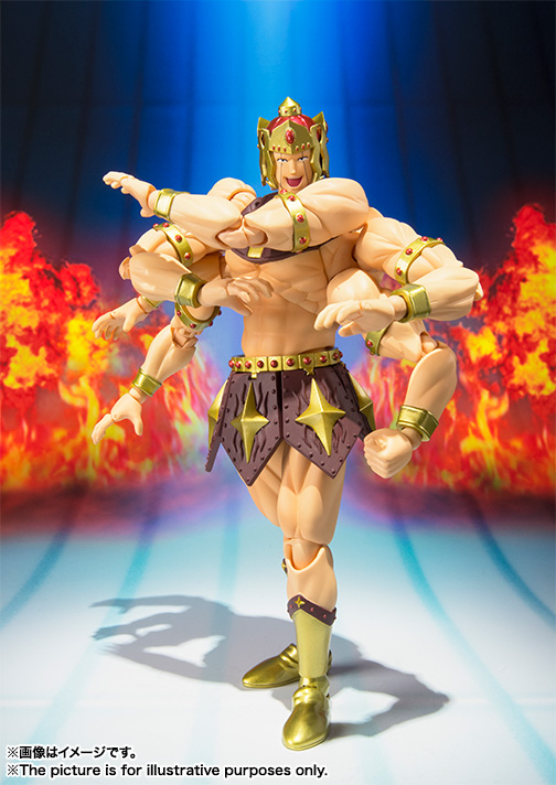 S H Figuarts Ashuraman From Kinnikuman Collectiondx