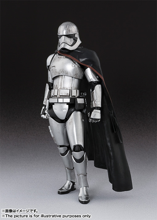 S H Figuarts Captain Phasma From Star Wars The Force