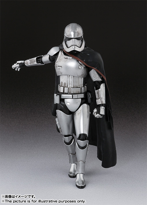 S.H.Figuarts Star Wars Captain Phasma Action Figure Bandai FROM JAPAN