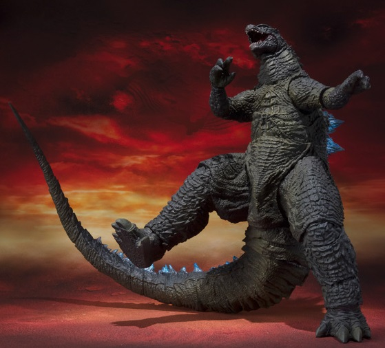 S H Monsterarts Godzilla 2014 Spit Fire Version