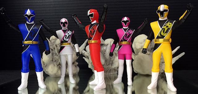 Sofubi Hero Candy Toy Shuriken Sentai Ninninger