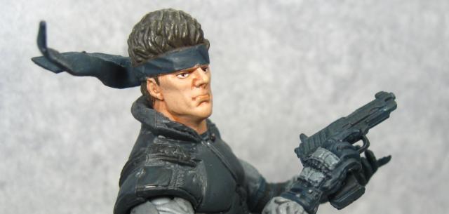 McFarlane Solid Snake