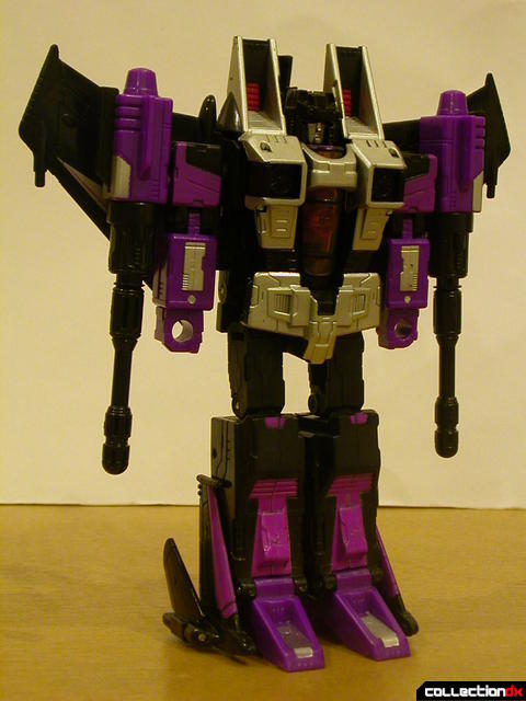 Decepticon Skywarp- robot mode (front)