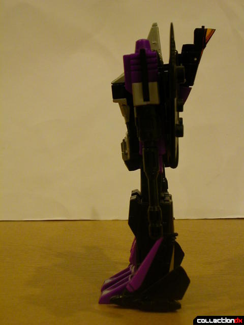 Decepticon Skywarp- robot mode (standing upright)
