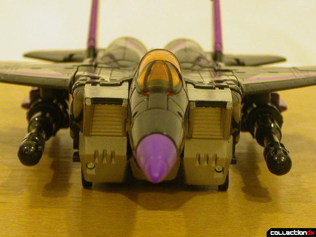 Decepticon Skywarp- vehicle mode (air intakes detail)