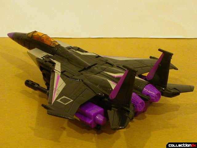 Decepticon Skywarp- vehicle mode (back)