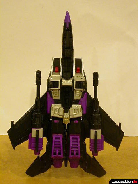 Decepticon Skywarp- vehicle mode (bottom view)
