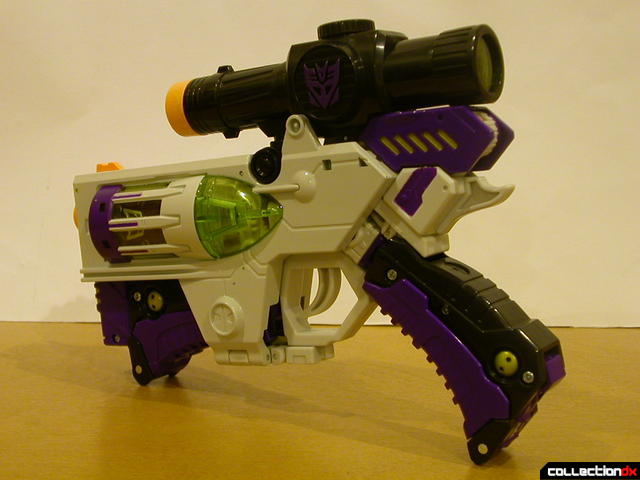 Decepticon Megatron- blaster mode (back)