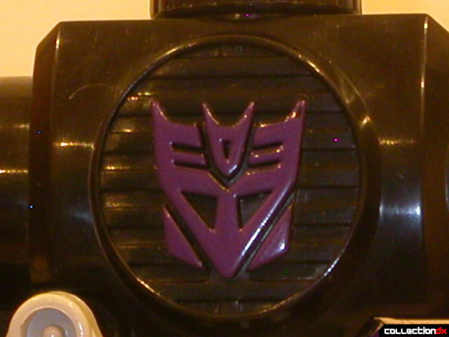 Decepticon Megatron- blaster mode (Decepticon symbol on scope)