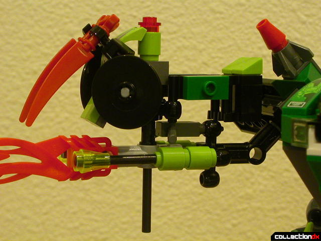 Chameleon Hunter (mini-robot attached)