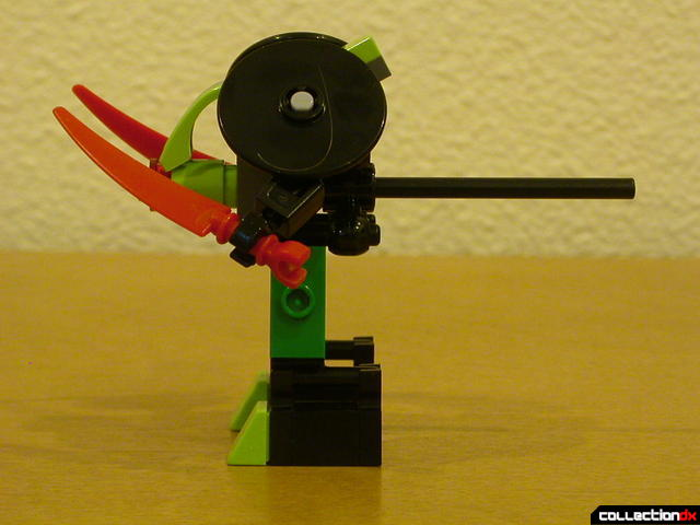 Chameleon Hunter- mini-robot (left side)