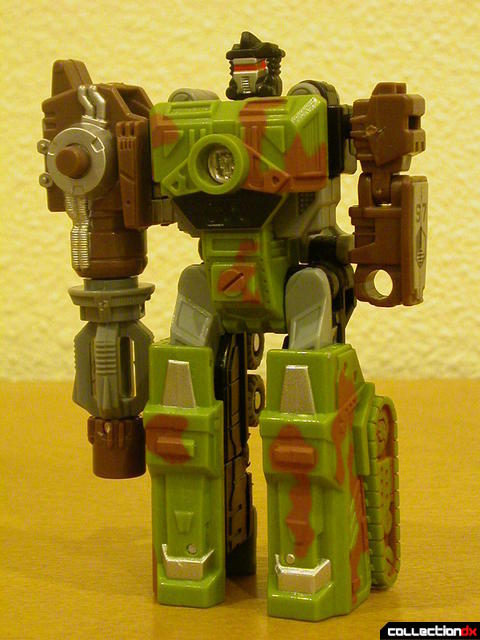 Autobot Signal Flare- robot mode (front)