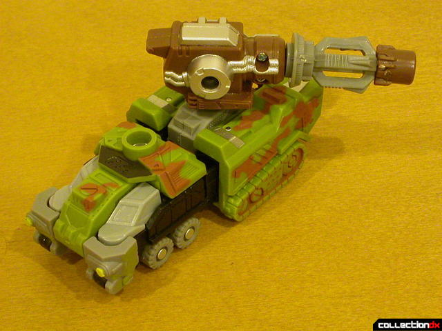 Autobot Signal Flare- vehicle mode (cannon turned)