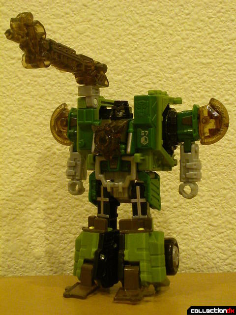 Autobot Strongarm- robot mode (with Energon parts attached)