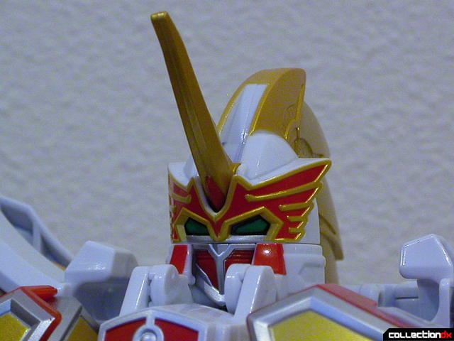 DX Tenkuu Gattai Saint Kaiser (head detail)