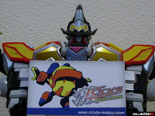 MagiKing with Kicks-Hobby Japan card (front)