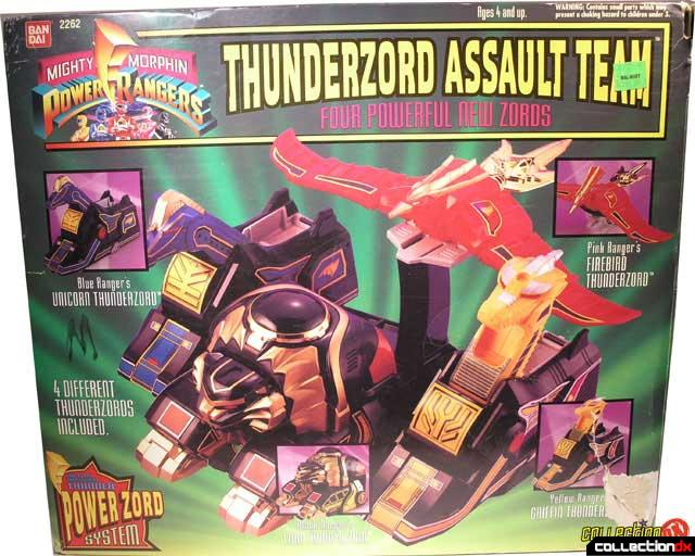 Thunderzord Assault Team