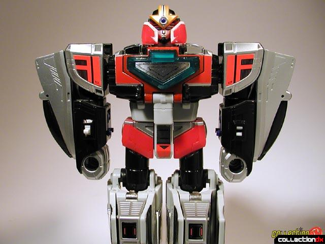 Time Force Megazord Mode Red