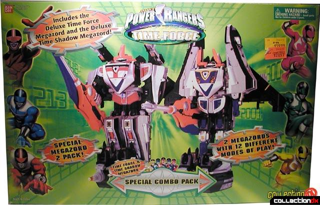 Time Force Megazord Special Combo Pack