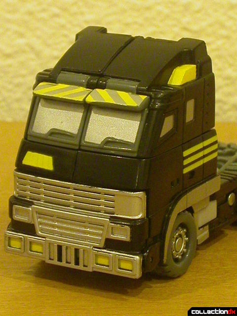Autobot Armorhide- vehicle mode (cab-over close-up)