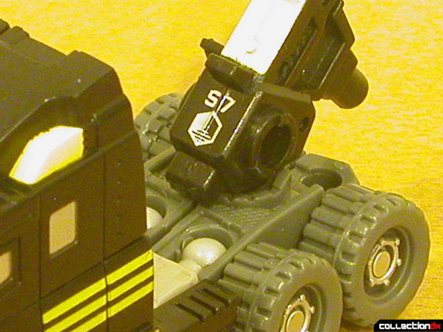 Autobot Armorhide- vehicle mode (Sector 7 logo)
