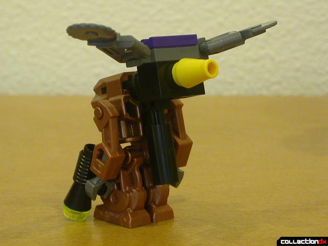 Dark Panther (Iron Drone's backpack with wings raised)