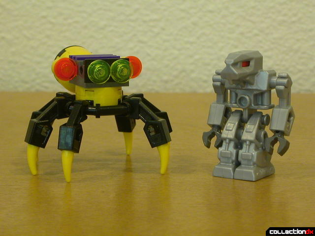 Dark Panther (mini-robot and Devastator)