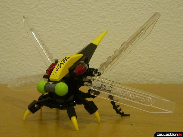 Storm Lasher- mini-robot (wings deployed)