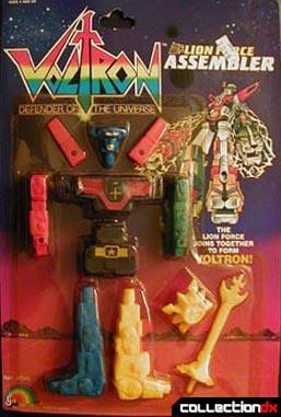 Voltron Lion Force Assembler