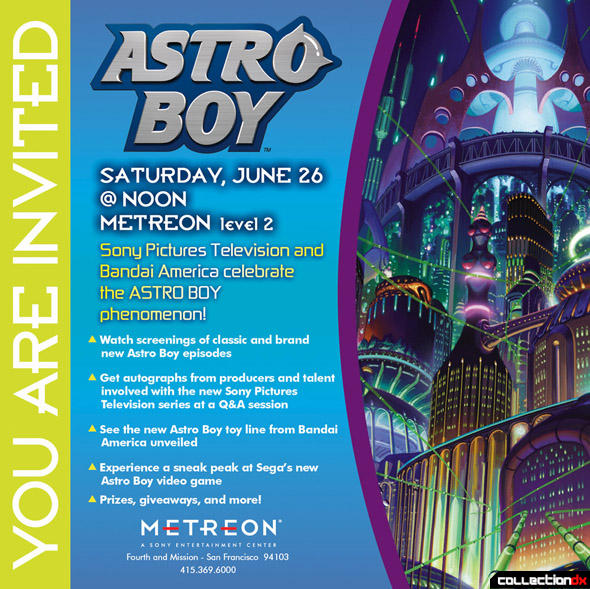 Astro Boy Event At The Sony Metreon, Saturday, June 26