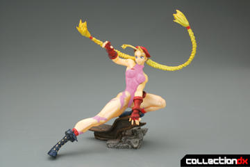 Capcom Girls Collection: Fighting Chun-Li & Fighting Cammy PVC Statues
