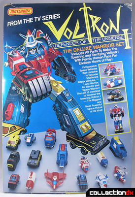 Voltron 1 Deluxe Warrior Set