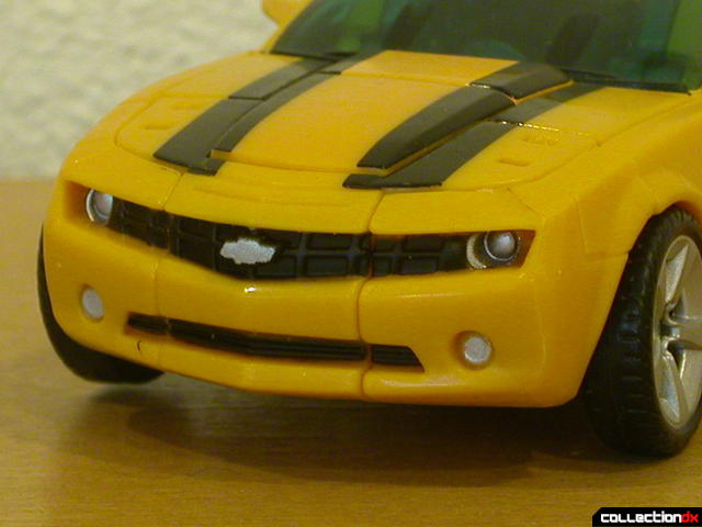 Battle Scenes Autobot Bumblebee- vehicle mode (front bumper detail)