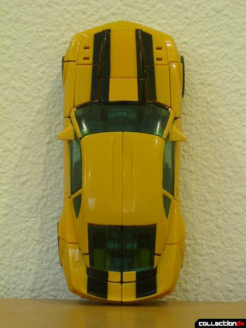 Battle Scenes Autobot Bumblebee- vehicle mode (top view)