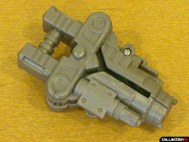 Battle Scenes Autobot Bumblebee- weapon detail (blaster mode)