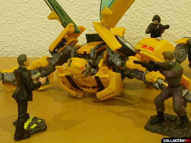 Battle Scenes- Capture of Bumblebee (alt. angle)