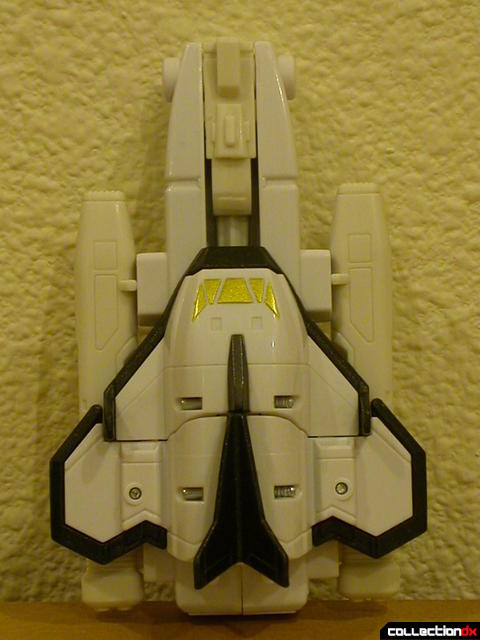 Deluxe Astro Galactic Megazord- Mega Shuttle (with booster assembly attached)
