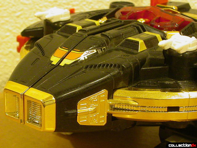 Deluxe Astro Galactic Megazord- Megaship Mode (front detail)