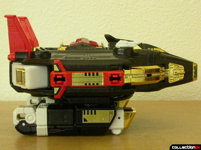 Deluxe Astro Galactic Megazord- Megaship Mode (right side)