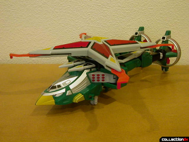 Deluxe Samurai Star Lightning Megazord -Chopper Mode (front)