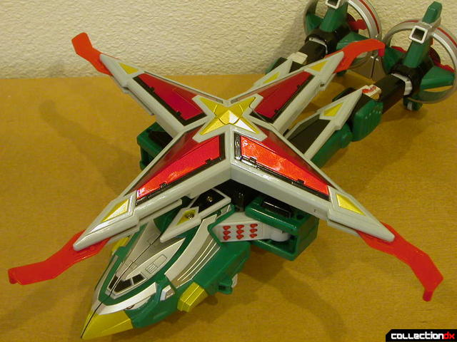 Deluxe Samurai Star Lightning Megazord -Chopper Mode (main rotor detail)
