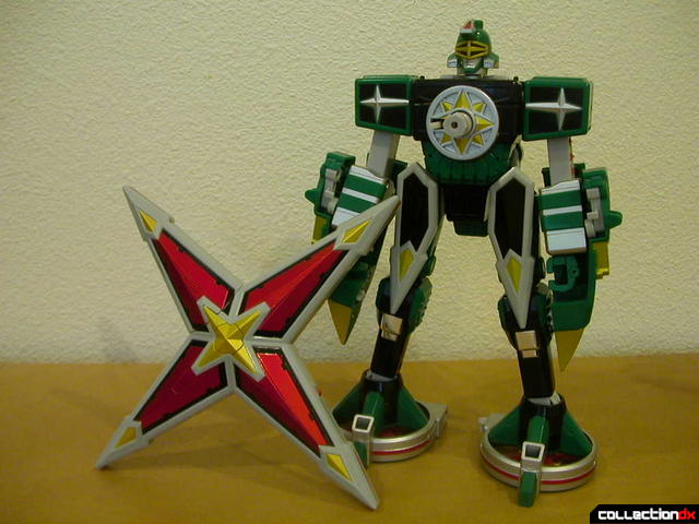 Deluxe Samurai Star Lightning Megazord -Megazord Mode (chest armor removed)